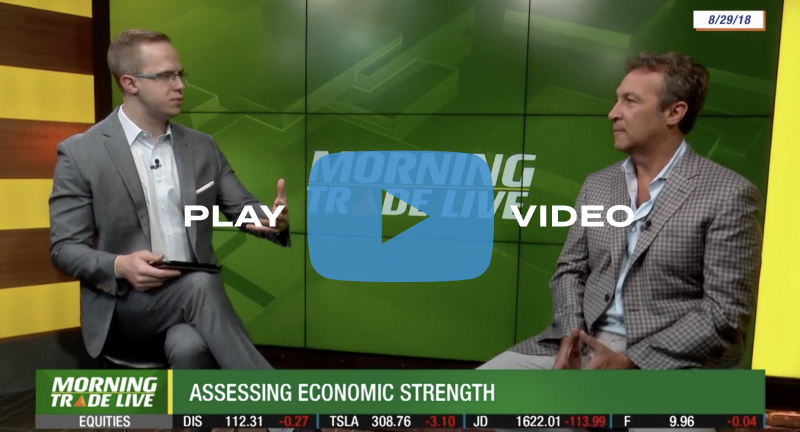 Rob Stein Assesses Economic Strength on Morning Trade Live