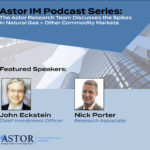 Astor Weekly Economic Review – Episode 81 – Astor Research Team Discusses the Spikes in Natural Gas and Other Commodity Markets